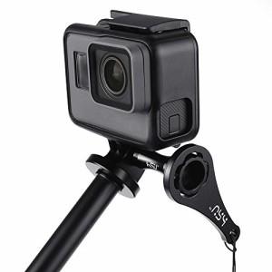 高品質オールアルミアクセサリー GoPro Hero 6/5/4/3+/ 3/2/1とSJ4000、SJ5000カメラ&ビデオカメラ対応 ロングアルミつまみネジ3個