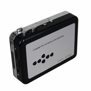 PC不要!カセットテープ USB変換プレーヤー カセットテープデジタル化 MP3コンバーター カセットテープのプレーヤーとしても使えます