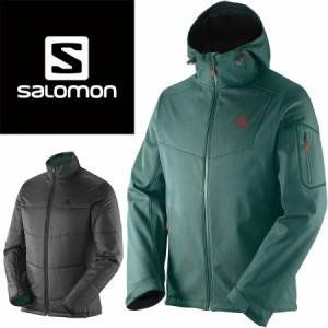 SALOMON(サロモン) L36368500 メンズ 中綿インナー付き スキーウェア ジャケット ソフトシェル☆GRN【SALE】