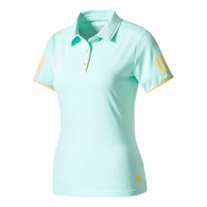 adidas(アディダス) BVK52 レディース テニスウェア WOMENS CLUB ポロシャツ エナジーアクア
