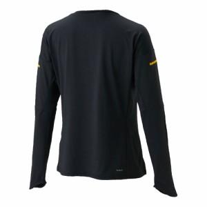 adidas(アディダス) DKI69 レディース フィーリングキット 長袖Tシャツ テニスウェア ブラック×イエロー