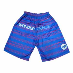 WONDER PEACE(ワンダーピース) WPB0087 Barbed Wire Shirts バスケットボールウェア ショートパンツ