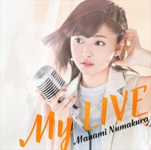 ☆【おまけ付】My LIVE (初回限定盤B)  / 沼倉愛美 【CD】 VTZL-130-SK