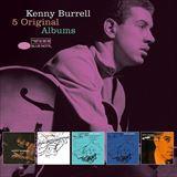☆【おまけ付】 5 ORIGINAL ALBUMS / KENNY BURRELL ケニー・バレル(輸入盤) 【5CD】 0602557143485-JPT