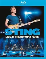 (おまけ付)LIVE AT THE OLYMPIA PARIS / STING スティング(輸入盤) (BLU-RAY) 5051300534073-JPT