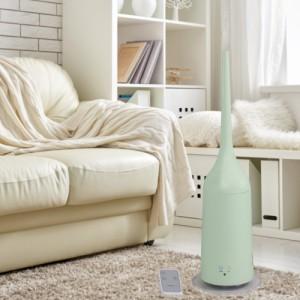 タワー型超音波加湿器 3L | アロマオイル対応 超音波 加湿器 大容量 タンク おしゃれ スリム 加湿、風邪予防 乾燥予防 (C106)