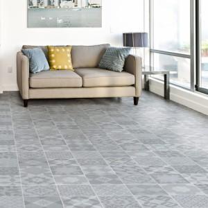貼ってはがせる フロアシート 1m×2m | フロアマット リメイクシート フロアタイル 床保護 キズ防止 シール 床材 (C298)