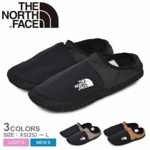 ザ ノースフェイス スリッポン メンズ コンパクト モック ブラック 黒 THE NORTH FACE NF52090 靴 シューズ ローカット 撥水 軽量 部屋用
