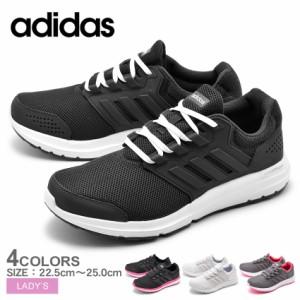 720a6f8a628626 アディダス スニーカー レディース ランニング シューズ 靴 軽量 黒 白 ADIDAS GLX 4 W