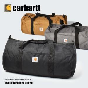 カーハート ボストンバッグ レディース メンズ ブラウン グレー CARHARTT 160221 キャンプ コンパクト 収納 便利 かばん 旅行 おしゃれ