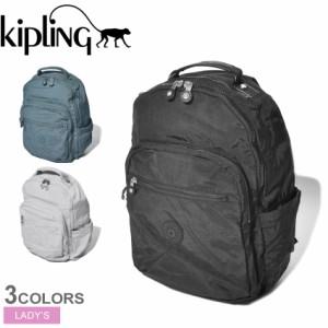 夏新作 キプリング バックパック レディース ソウル ブラック 黒 KIPLING KI5210 リュックサック リュック バッグ カバン ブランド シン