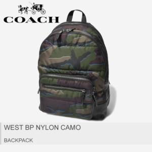 b7e83c1d6500 COACH コーチ リュックサック ウェスト バックパック ナイロン カモ F31319 メンズ レディース 鞄 迷彩