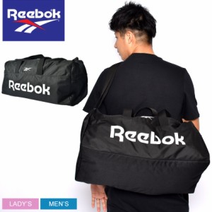 リーボック ボストンバッグ レディース メンズ アクティブコア LL M グリップ ブラック 黒 REEBOK GD0032 カバン ブランド シンプル 鞄