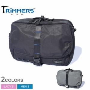 夏新作 トリマーズ ショルダーバッグ レディース メンズ ランドスケーパー ブラック 黒 グレー TRIMMERS 100-TRM-000006 鞄 バッグ ブリ