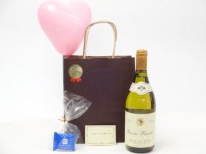 贈り物セット フランス白ワインセット(パスカル シータ キュヴェブラン 白ワイン(フランス)750ml)メッセージお歳暮 のし可