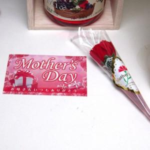 母の日 ギフトセット スパークリングワインセット お母さんありがとう木箱セット(ルイ・ビカメロヴァンムスー ブラン・