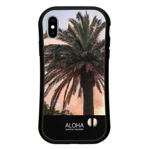 iPhone SE 2020 SE2 第2世代 XSMax XR XS X 8 8Plus 7 7Plus ケース ハードケース ALOHA ハワイアン 西海岸 カバー アイフォン スマホケ