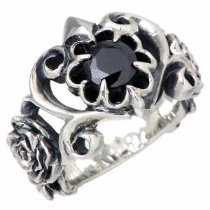 DEAL DESIGN ディールデザイン シルバー リング 指輪 メンズ レディース ローズティアラ 7月 誕生石 391203