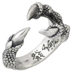 DICKY & GRANDMASTER シルバー リング 指輪 メンズ トリプルクロー ディッキー&グランドマスター DGR006