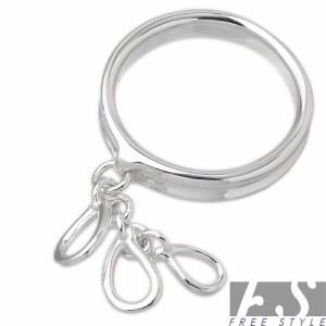 FREE STYLE フリースタイル シルバー リング 指輪 レディース ティアドロップC FSR-719