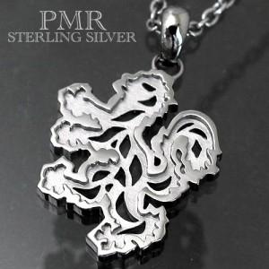 PMR OLTRE ピーエムアールオルトレ シルバー ネックレス メンズ レディース オルトレライオン Lブラック OLP001-BK