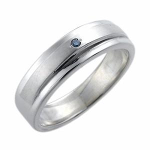 waCca ワッカ シルバー リング 指輪 レディース メンズ ブルーダイヤモンド PCWR027BD