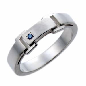 waCca ワッカ シルバー リング 指輪 レディース メンズ ブルーダイヤモンド PCWR029BD