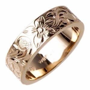 waCca ワッカ シルバー リング 指輪 レディース ハワイアンナロー ピンク PNKR013PC