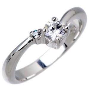 Cheri シェリ close to me シルバー リング 指輪 レディース ブルーダイヤモンド キュービックジルコニア sv SR36-001