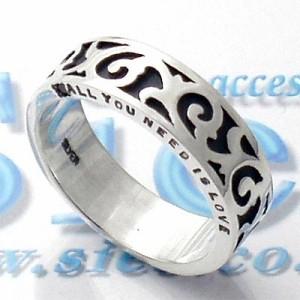 リング 指輪 メンズ レディース tip チップ シルバー ダイヤモンド TPRW002