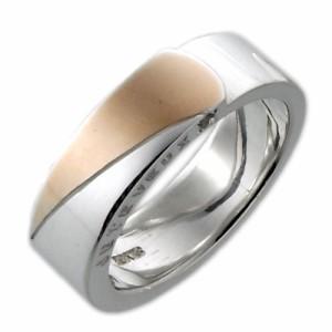 tip チップ シルバー リング 指輪 レディース メンズ ツートーン TPRW026