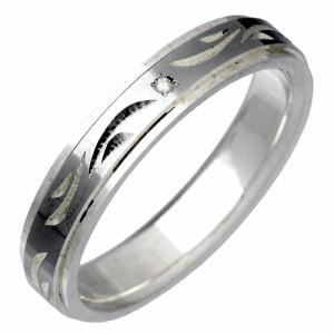 white clover ホワイトクローバー シルバー リング 指輪 レディース メンズ 手彫り ダイヤモンド RT WSR227RT 刻印可能