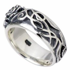 DEAL DESIGN ディールデザイン シルバー リング 指輪 メンズ レディース トライバルローズ 390557