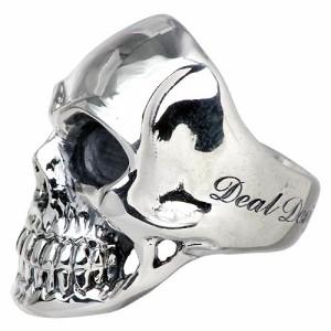 DEAL DESIGN ディールデザイン シルバー リング 指輪 メンズ レディース リアルフェイス 390908