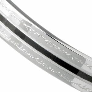 ステンレス ブレスレット メンズ STAINLESS STEEL アレルギーフリー PVDバングル BSGBL01 アクセサリー