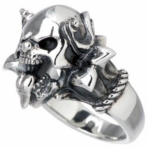 FAL エフ.エー.エル シルバー リング 指輪 メンズ レディース ルーズスウィル sv 髑髏ドクロ骸骨 FA-R-0056