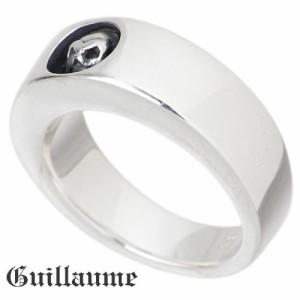 Guillaume ギローム シルバー リング 指輪 メンズ レディース スカルエンブレム 送料無料 髑髏ドクロ骸骨 Gu-R-005S