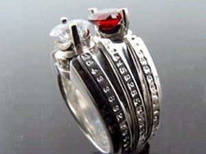 KEN BLOOD ケンブラッド シルバー リング 指輪 メンズ レディース ビショップ KB- KHR-17