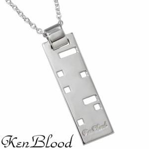 KEN BLOOD ケンブラッド シルバー ネックレス メンズ レディース メッセージ 堂本光一さん着用アイテム KB-KP-146