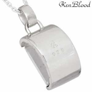 KEN BLOOD ケンブラッド シルバー ネックレス メンズ レディース ストーン KB-KP-60