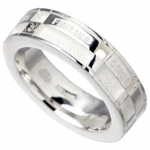 KEN BLOOD ケンブラッド シルバー リング 指輪 メンズ レディース ダイヤモンドメッセージ KB-NI-48