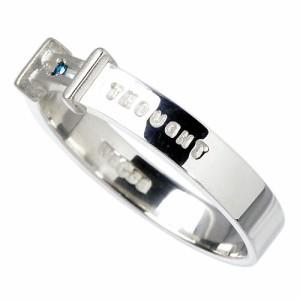 waCca ワッカ シルバー リング 指輪 レディース メンズ ブルーダイヤモンド PCWR030BD