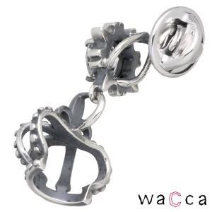 waCca ワッカ シルバー ピンブローチ メンズ レディース クラウン キュービックジルコニア PNKL04