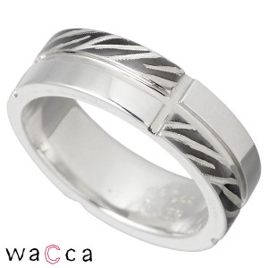 waCca ワッカ シルバー リング 指輪 レディース メンズ ゼブラ柄 2 PNKR6