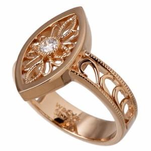 リング 指輪 レディース メンズ waCca ワッカ シルバー ヨーロピアン ピンク PNKR020PC