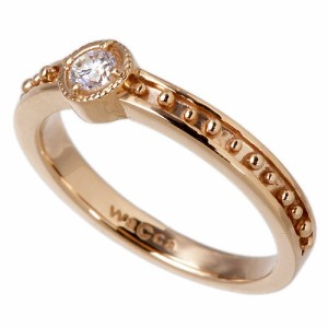 waCca ワッカ シルバー リング 指輪 レディース メンズ ヨーロピアン ピンク PNKR025PC