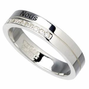 リング 指輪 レディース メンズ waCca ワッカ シルバー キュービックジルコニア PNKR037