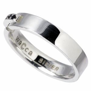リング 指輪 レディース メンズ waCca ワッカ シルバー キュービックジルコニア PZR002SV