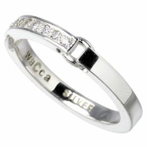 waCca ワッカ シルバー リング 指輪 レディース メンズ キュービックジルコニア PZR003