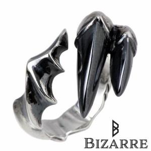 Bizarre ビザール シルバー リング 指輪 メンズ ブラッククロウ SRP070